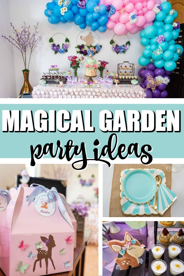 Magical Bambi Garden Party on Pretty My Party