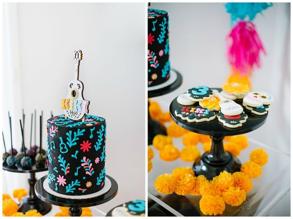 Coco Party Ideas - Cake and Cookies