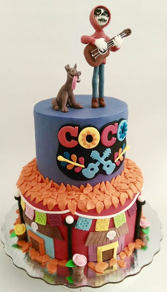 Coco Cake - Disney Pixar Coco Party