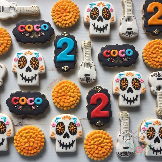 Coco Party Cookies - Coco Party Ideas