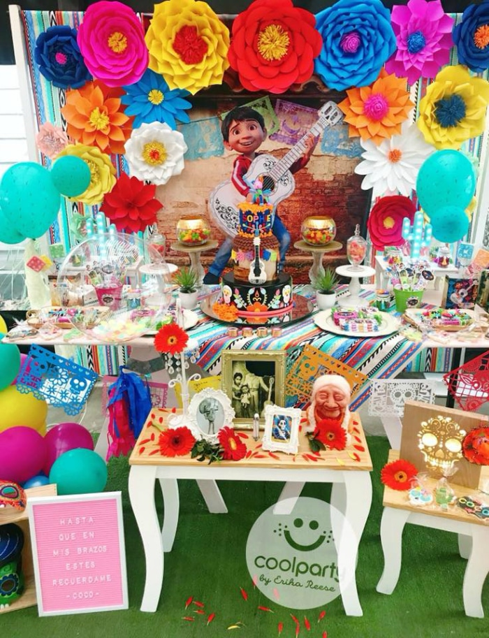 Coco Party Dessert Table