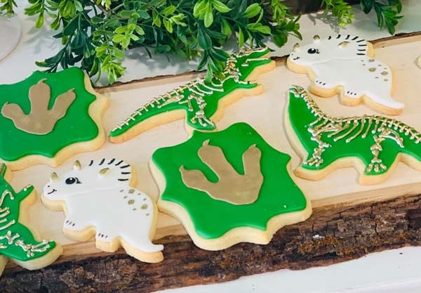 Cool Dinosaur Cookies