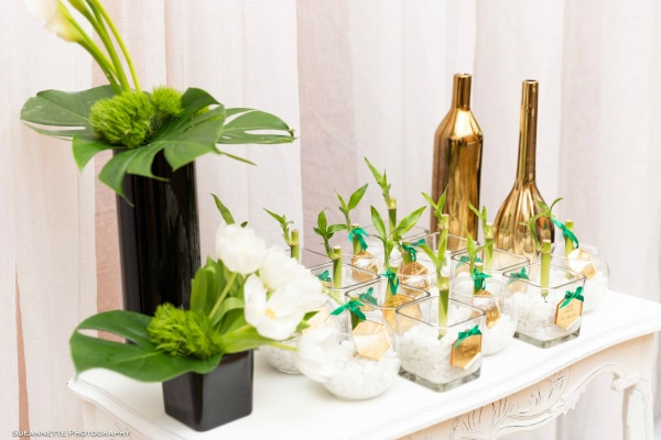 Gold Panda Baby Shower Favors