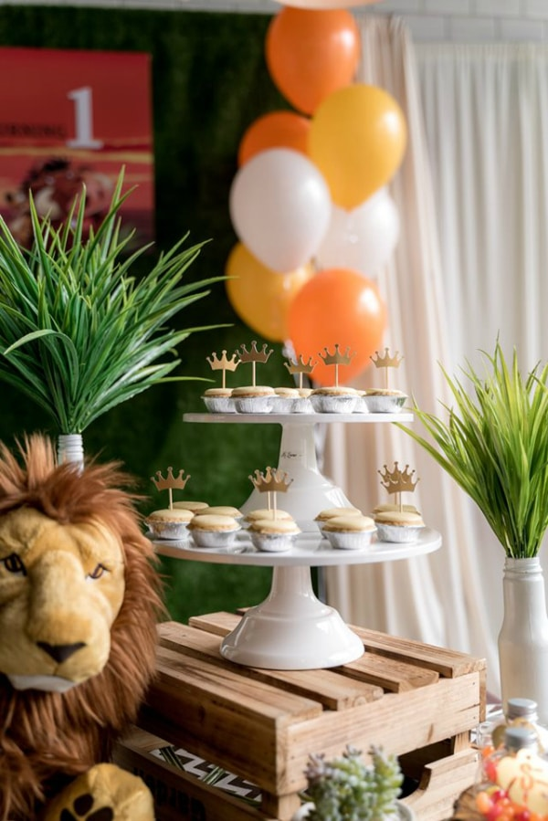 Lion King Party Food
