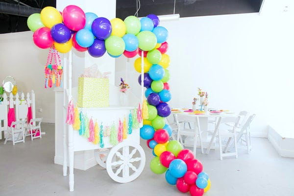 Colorful Balloon Garland