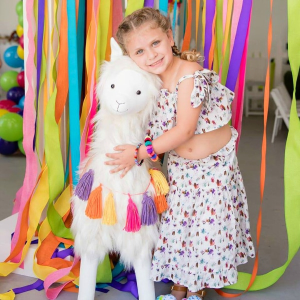 Girls Llama Themed Party