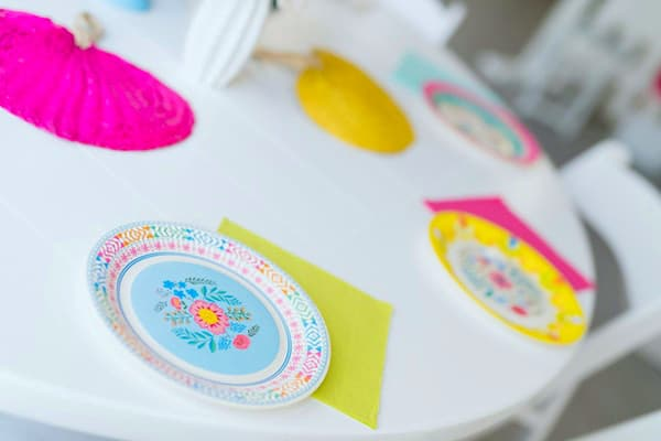 Colorful Fiesta Party Plates