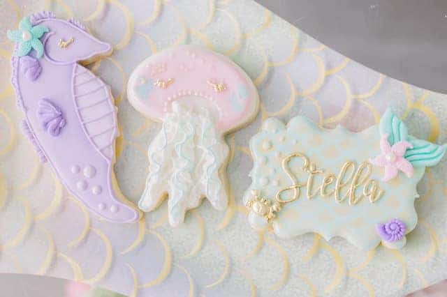 Mermaid Under the Sea Cookies
