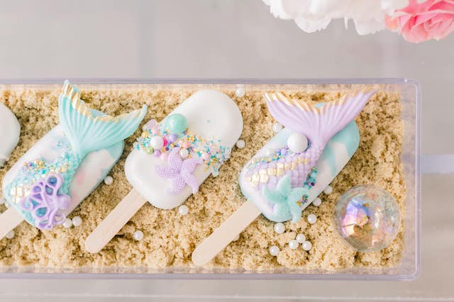 Mermaid Party Dessert Ideas