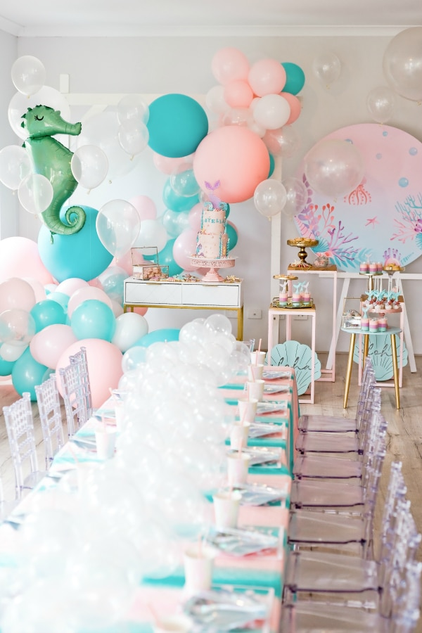 Mermaid Under the Sea Party Decorations