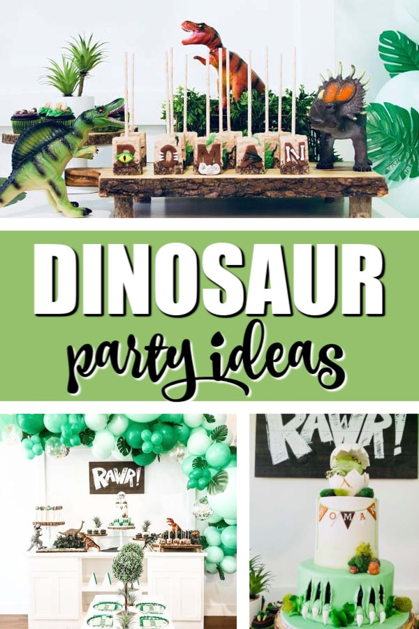 Party Like A Dinosaur Theme on Pretty My Party