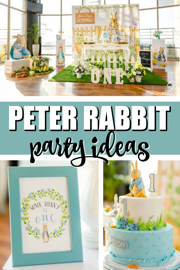 Peter Rabbit Party on Pretty My Party