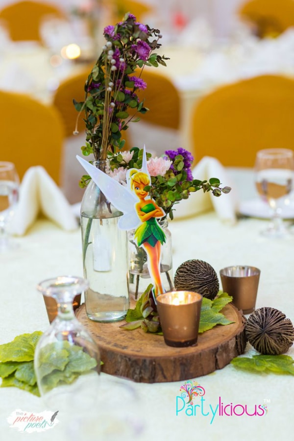 Tinkerbell Birthday Party Centerpiece