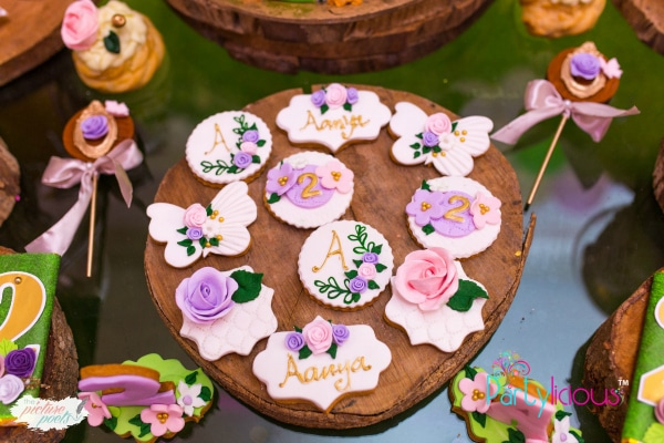 Tinkerbell Party Cookies