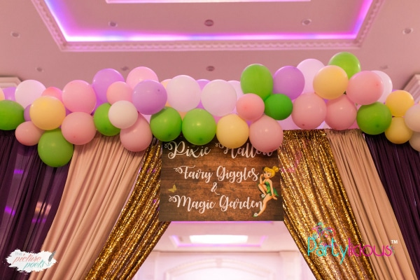 Tinkerbell Party Entrance Decorations