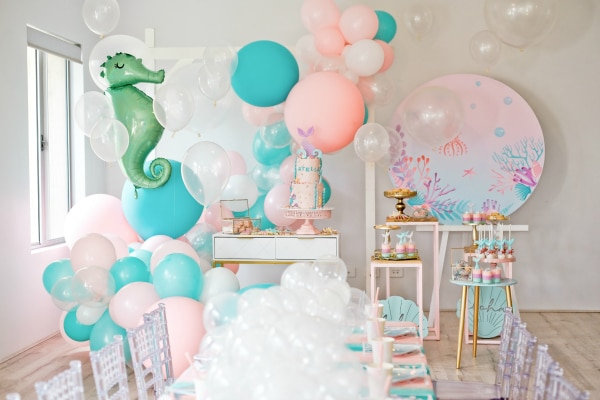 Mermaid Under the Sea Kids Party Ideas