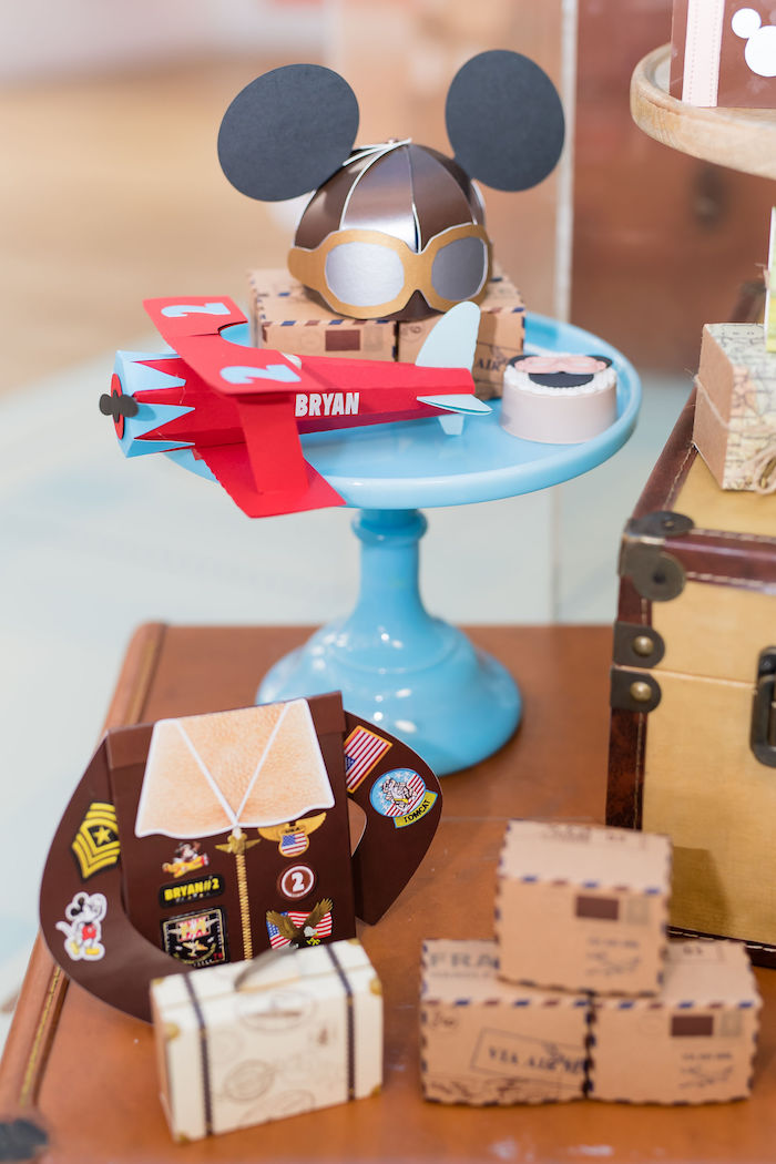 Mickey Mouse Aviator Party Supplies and Decor