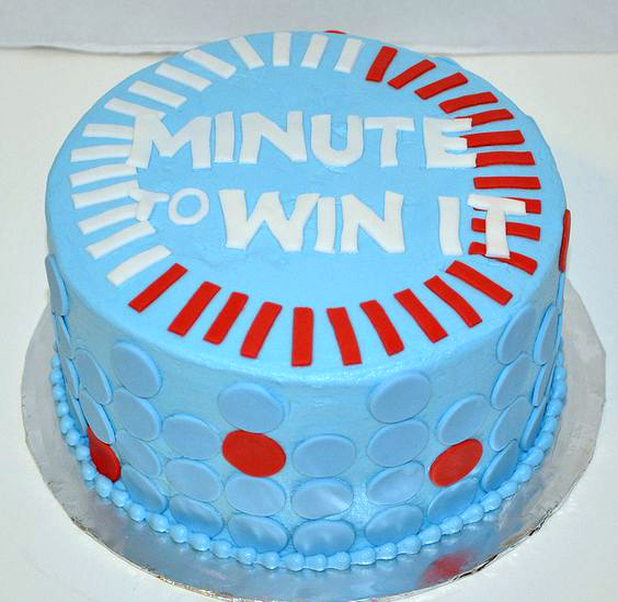 Minute To Win It Birthday Cake For Kids