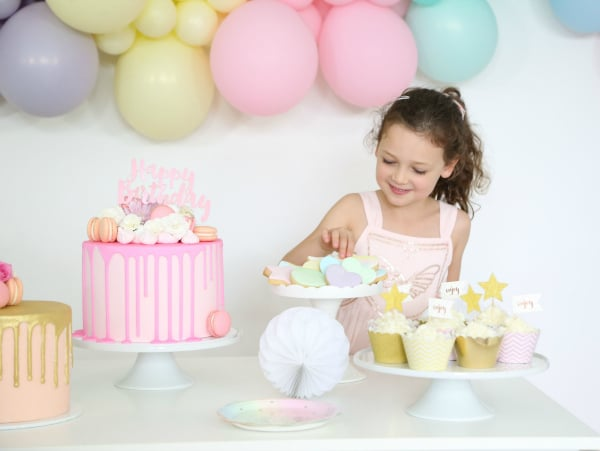 Pretty Pastel Party Desserts and Cakes