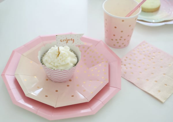 Pretty Pastel Party Plates and Supplies