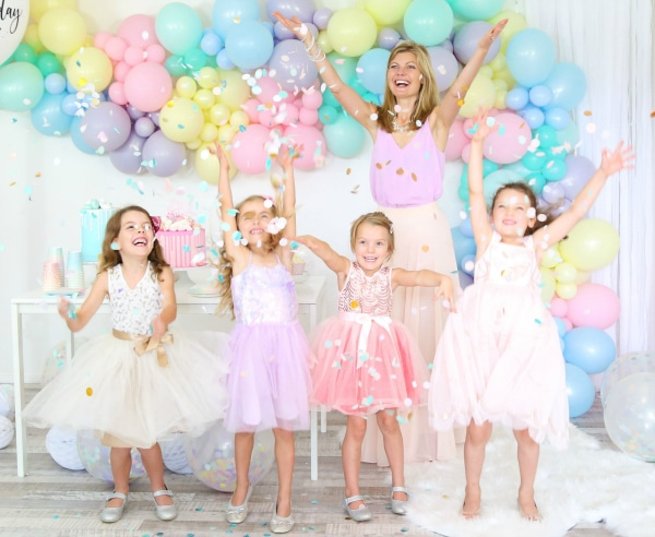 Pastel Party Ideas For Girls
