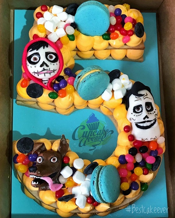 Coco Cookie Cake