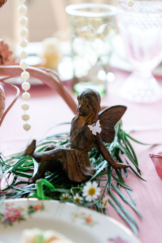 Garden Fairy Decoration For Tea Party Bridal Shower