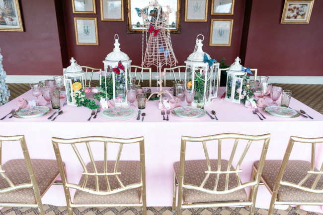 High Tea Bridal Shower Table Idea