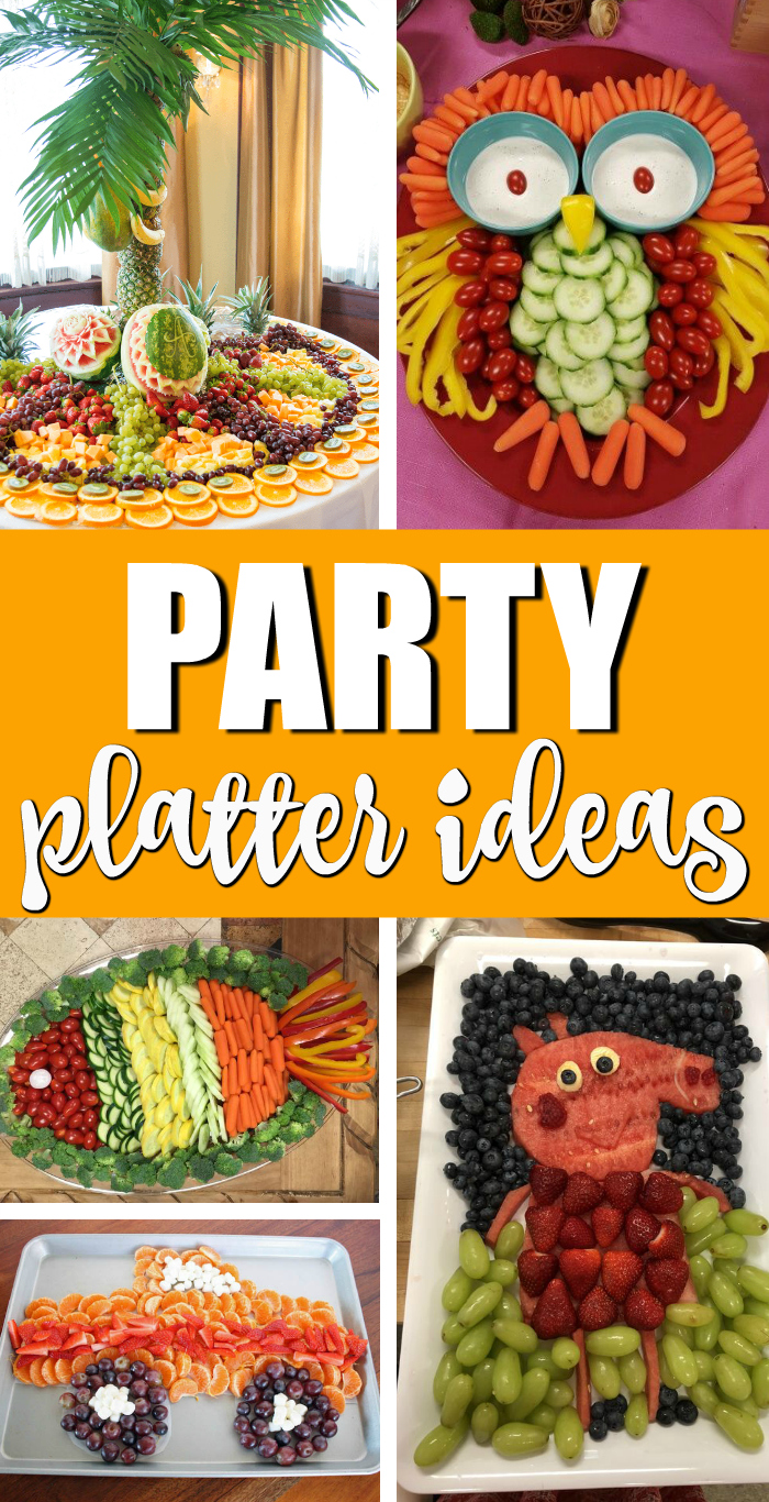 Creative Party Platter Ideas Pretty My Party Party Ideas
