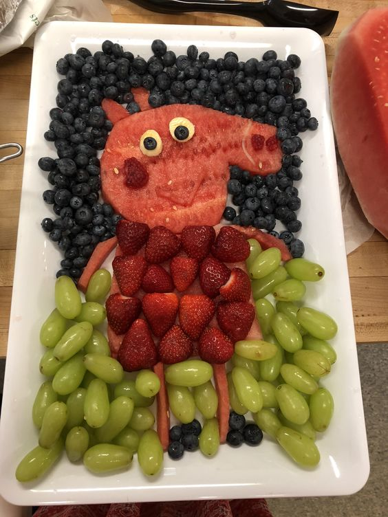 Peppa Pig Fruit Tray