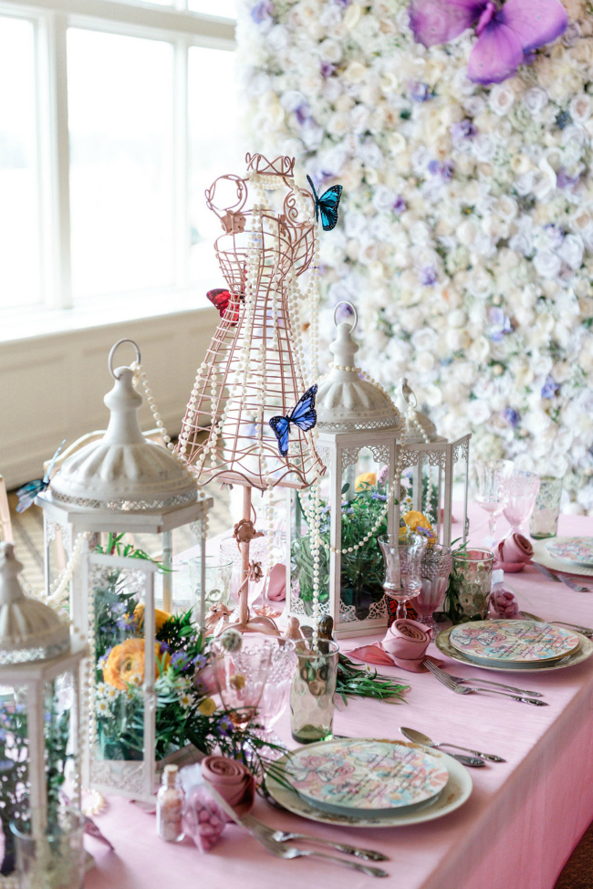 Tablescape Ideas For a Tea Party Bridal Shower