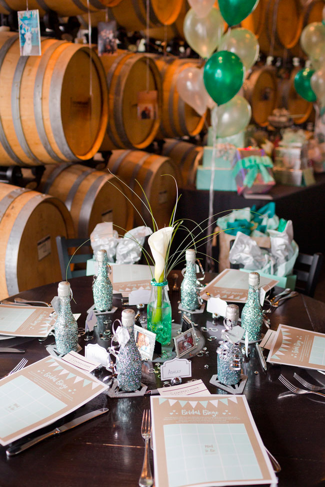 Mint To Be Bridal Shower Table