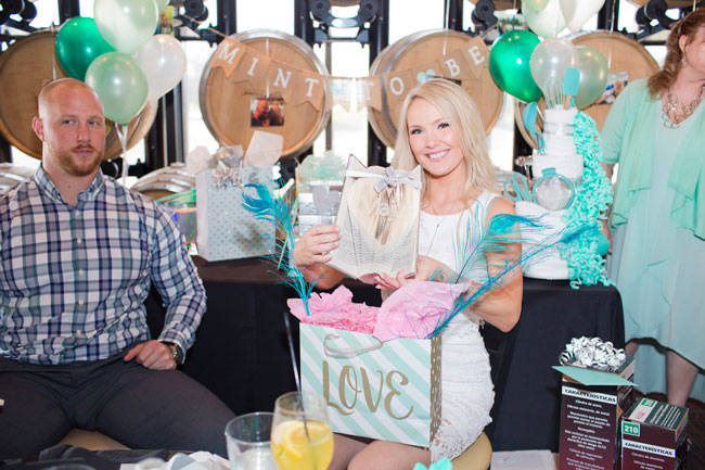 Mint To Be Bridal Shower Gifts