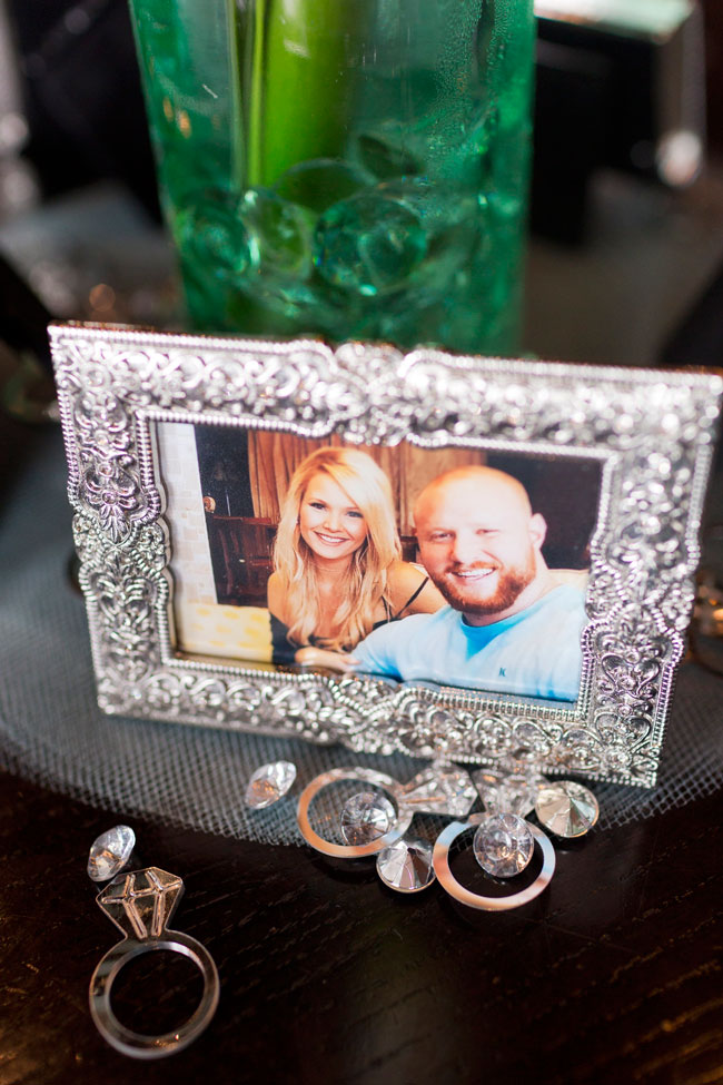 Mint To Be Bridal Shower Photo Frame Decor