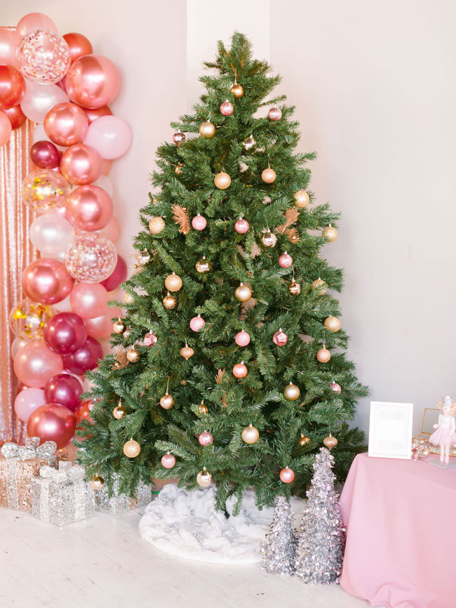 Pink Nutcracker Themed Party Christmas Tree