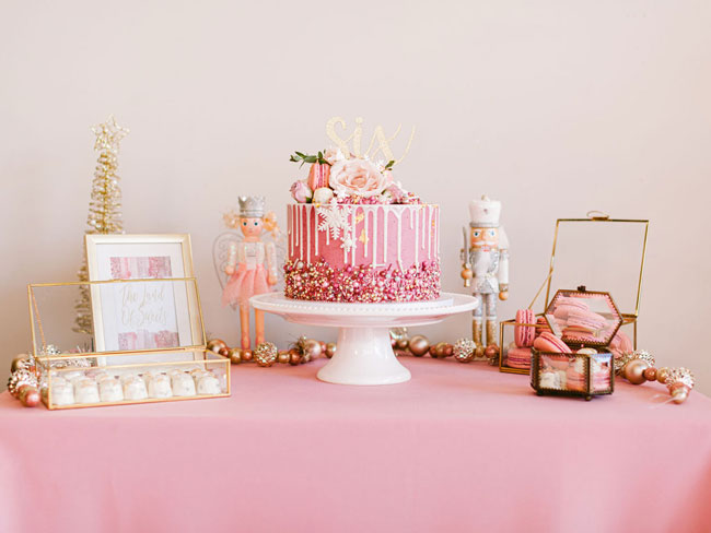 Pink Nutcracker Themed Party