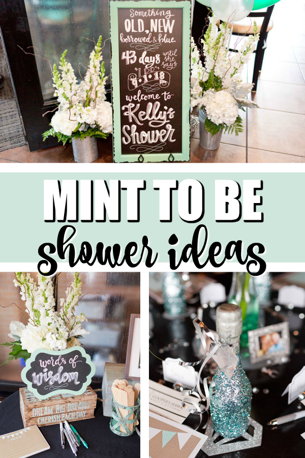 Mint To Be Bridal Shower Ideas on Pretty My Party