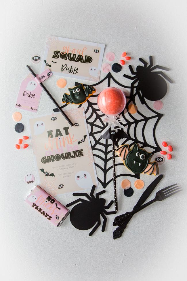 Kids Halloween Party Invitations
