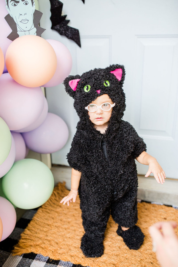Black Cat Halloween Costume
