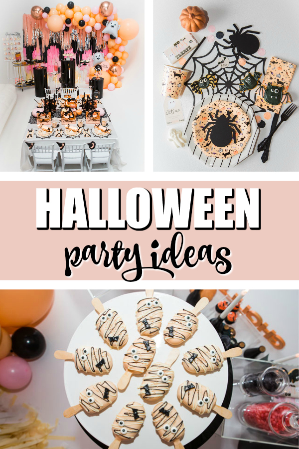 Ghouls Squad Kids Halloween Party on Pretty My Party