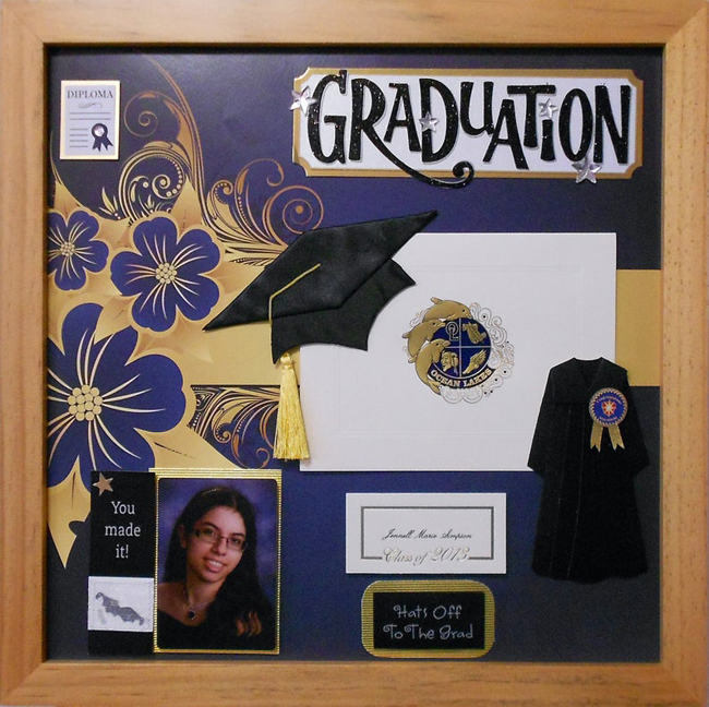 Graduation Shadow Box Idea