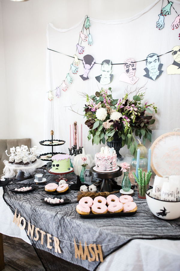 Monster Mash Dessert Table