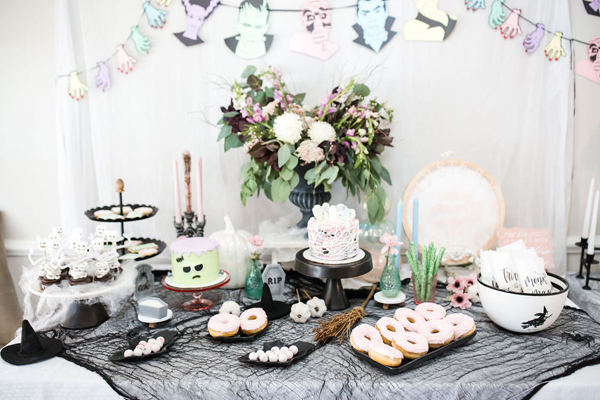 Monster Mash Sweets Table