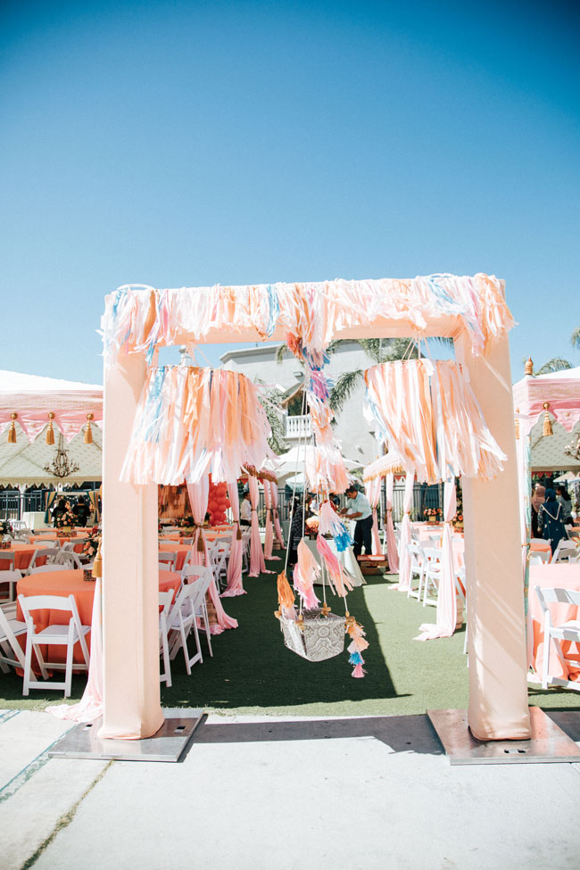Colorful Floral Birthday Party Decor