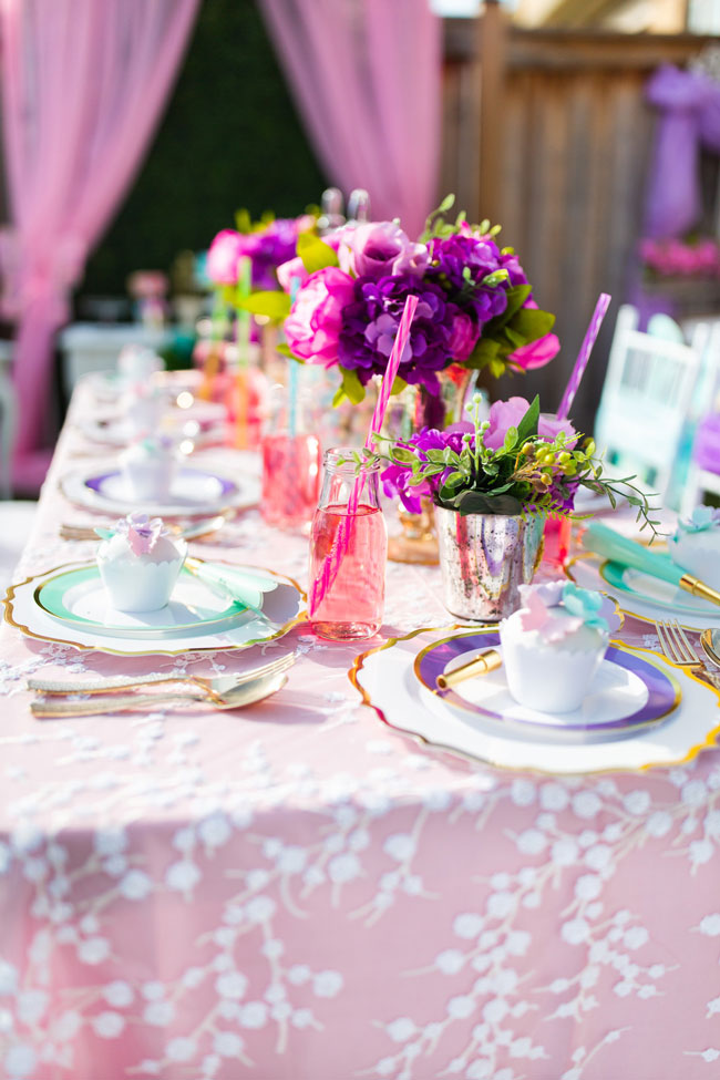 Butterfly Party Tablescape
