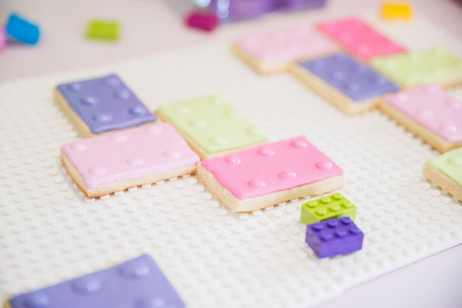 Girl Lego Sugar Cookies