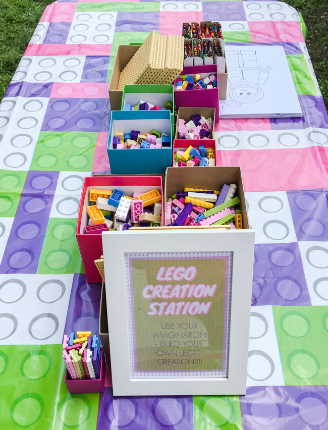 Lego creation station