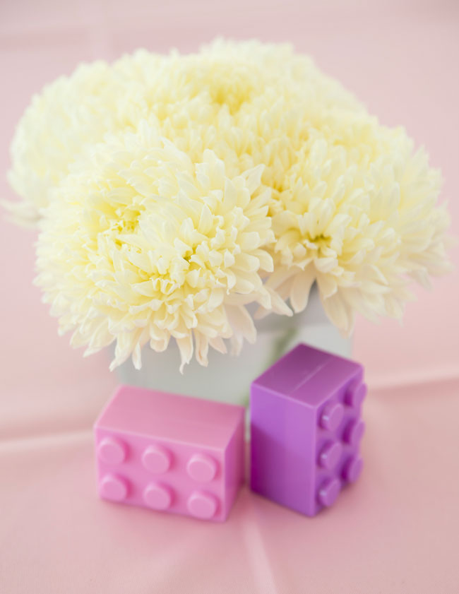 Lego Flower Centerpiece