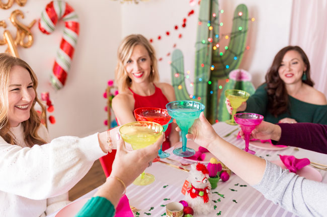 Mistletoe and Margaritas Holiday Party Theme