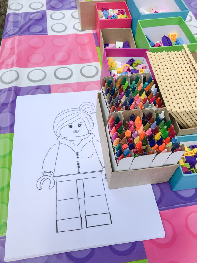 Girl Themed Lego Party